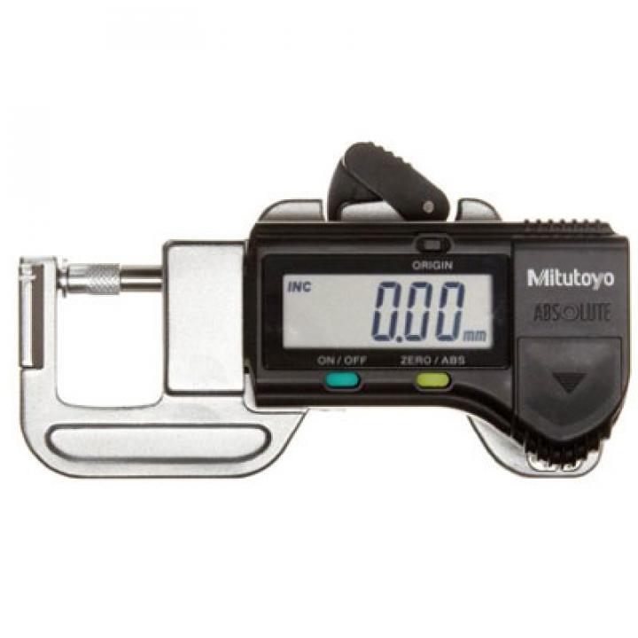 Thước đo độ dày điện tử 0-12mm bỏ túi Mitutoyo 700-119-30