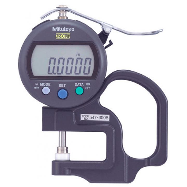 Thước đo độ dày điện tử Mitutoyo 547-300S (0 - 10mm / 0 - .4'')