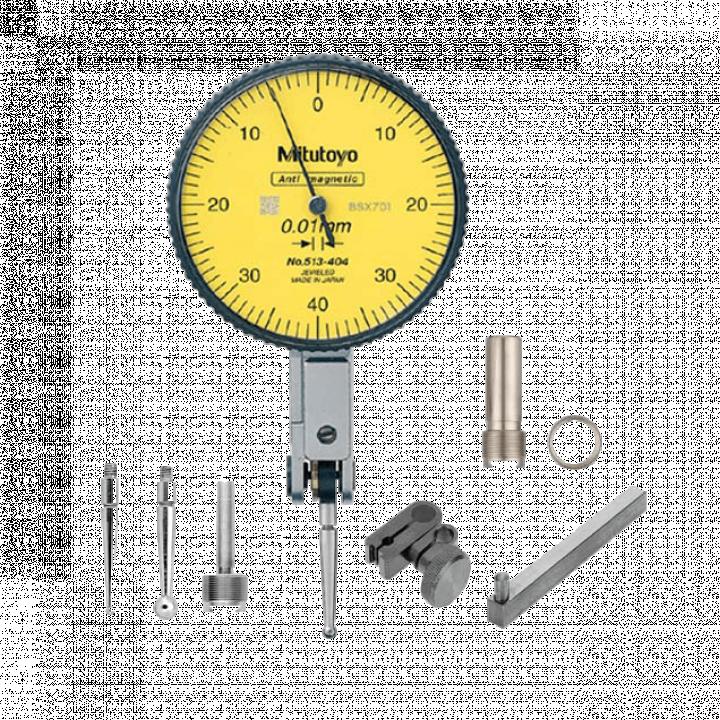 Đồng hồ chân gập 0.8mm x 0.01 Mitutoyo 513-404-10T