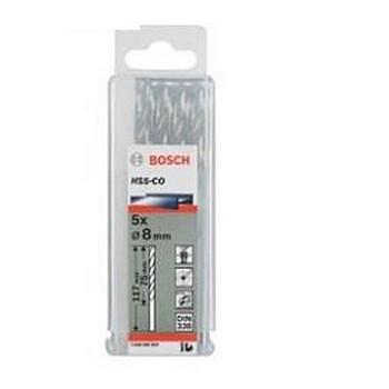 Bộ Mũi khoan sắt Bosch HSS-G 14mm (Hôp 4 mũi)