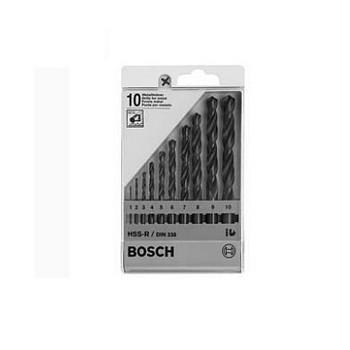 Bộ mũi khoan săt  Bosch 1-10 mm