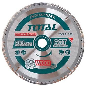 Lưỡi cưa gỗ hợp kim 60 răng Total TAC231723 254mm