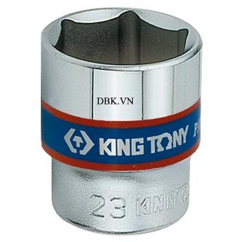 Đầu tuýp ngắn 3/8 inch 19 x 29mm Kingtony 333519M