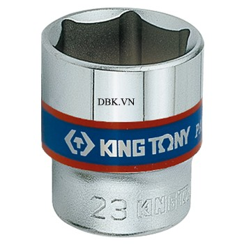 Đầu tuýp ngắn 3/8 inch 15 x 29mm Kingtony 333515M