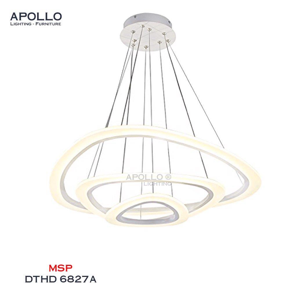 Đèn thả 3 vòng Arcylic DTHD 6827A