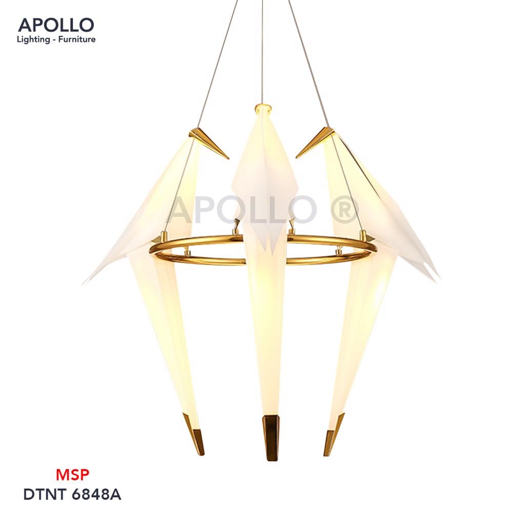 Đèn thả phòng khách Origami Bird Light 3 con chim DTNT 6848A
