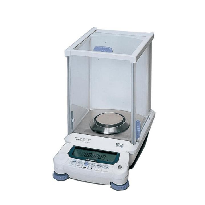 Cân phân tích điện tử Shimadzu AUX-120, chuẩn nội 120 g