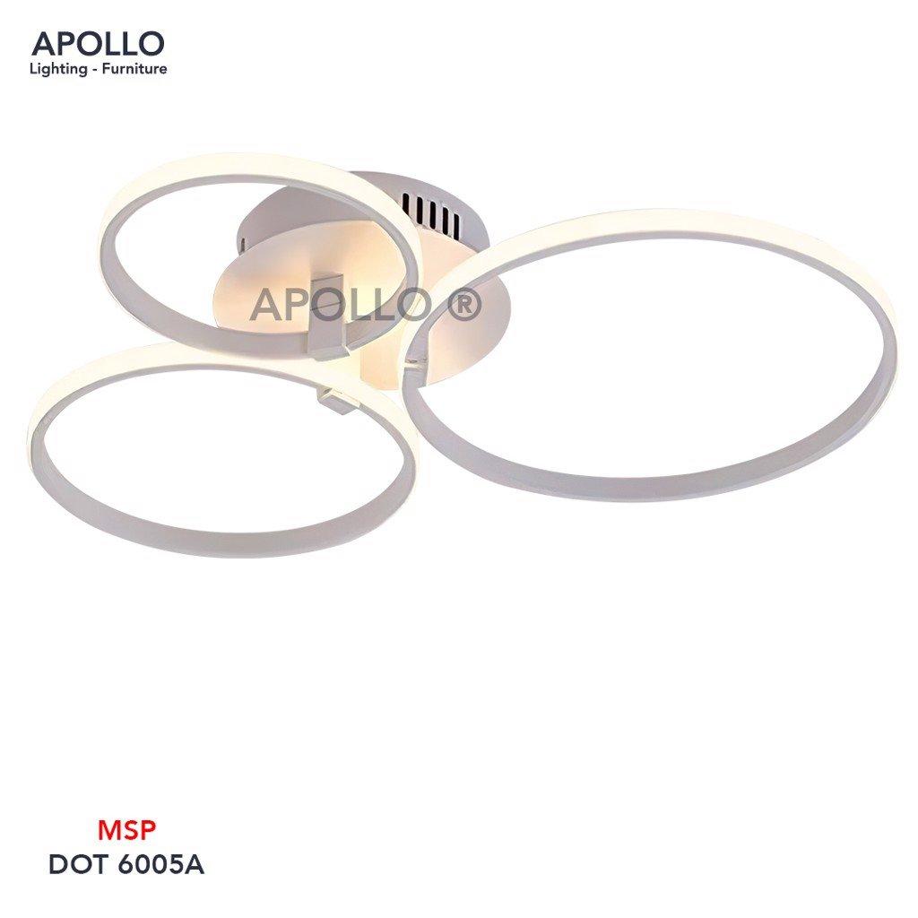 Đèn áp trần LED hiện đại DOT 6005A