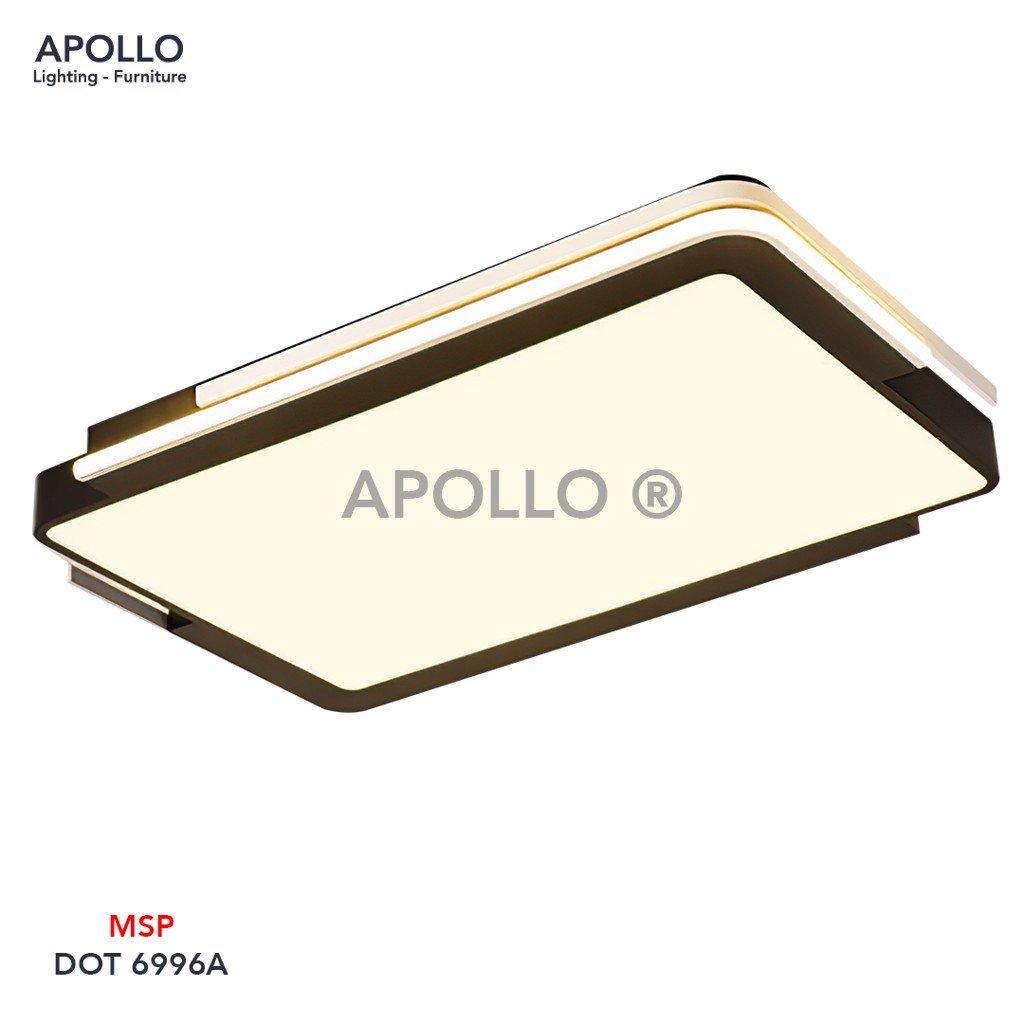 Đèn áp trần chữ nhật hiện đại DOT 6996A