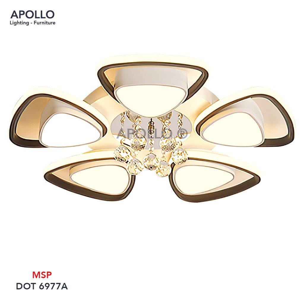Đèn ốp trần LED pha lê DOT 6977A