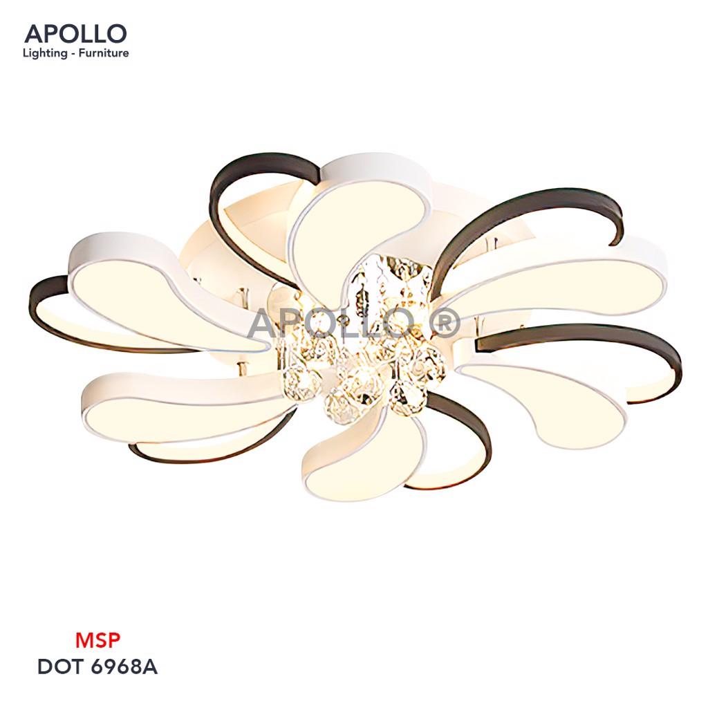 Đèn ốp trần Arcylic pha lê DOT 6968A