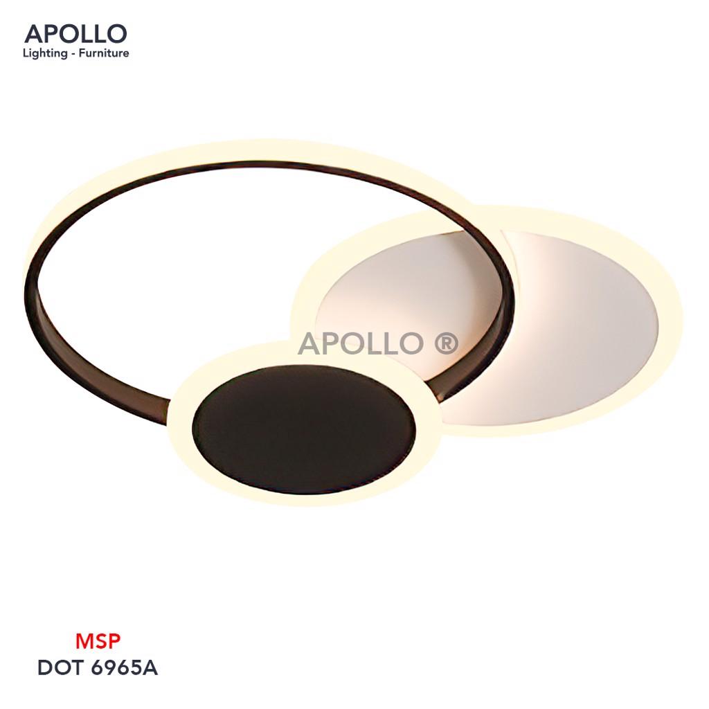 Đèn ốp trần LED Arcylic DOT 6965A