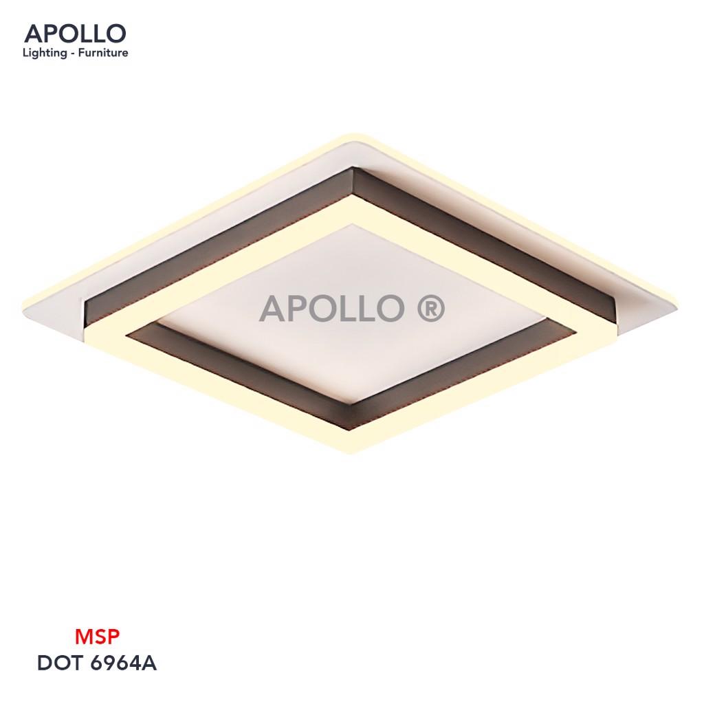Đèn ốp trần LED Arcylic DOT 6964A