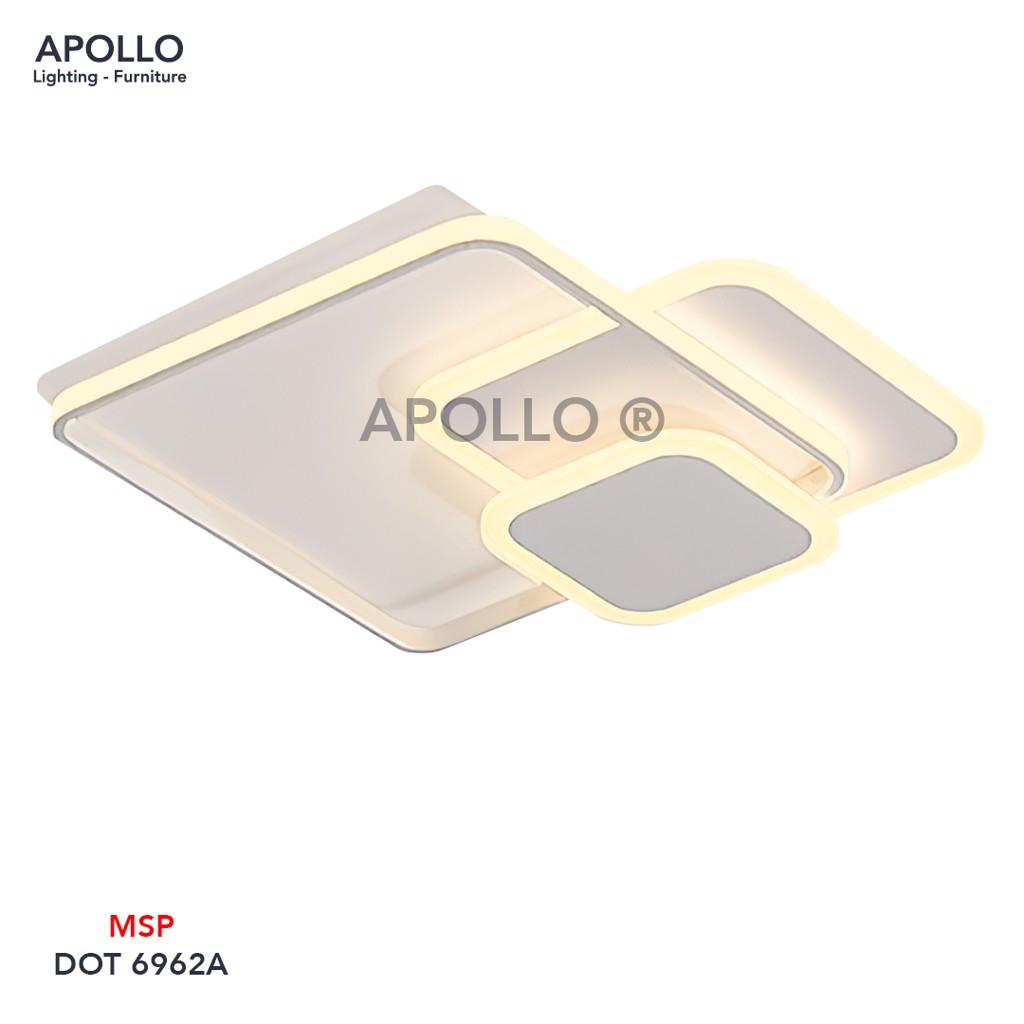 Đèn ốp trần LED hiện đại DOT 6962A