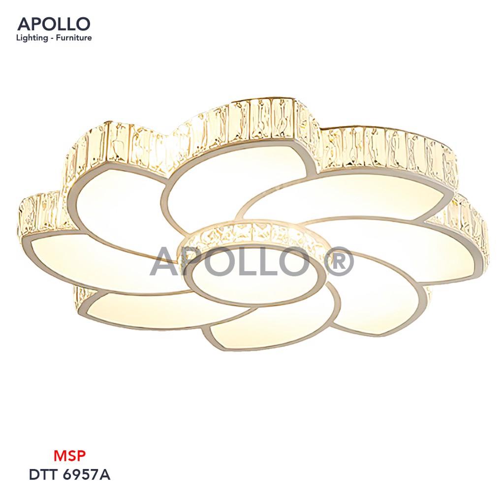 Đèn ốp trần LED Mica Arcylic DOT 6957A