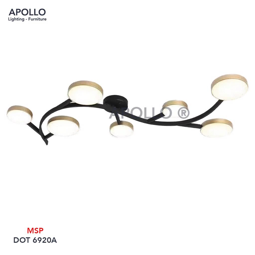 Đèn áp trần nghệ thuật DOT 6920A