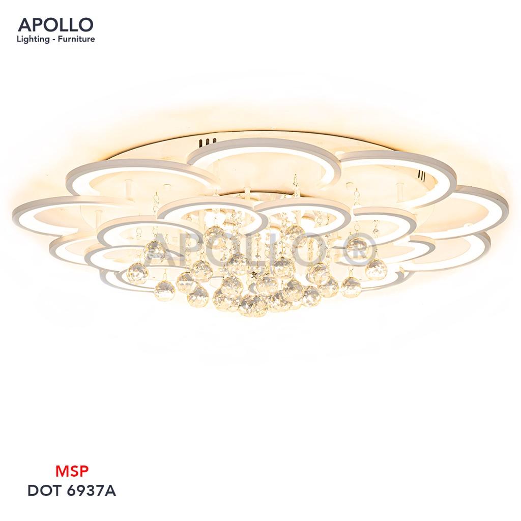 Đèn ốp trần LED Arcylic pha lê DOT 6937A
