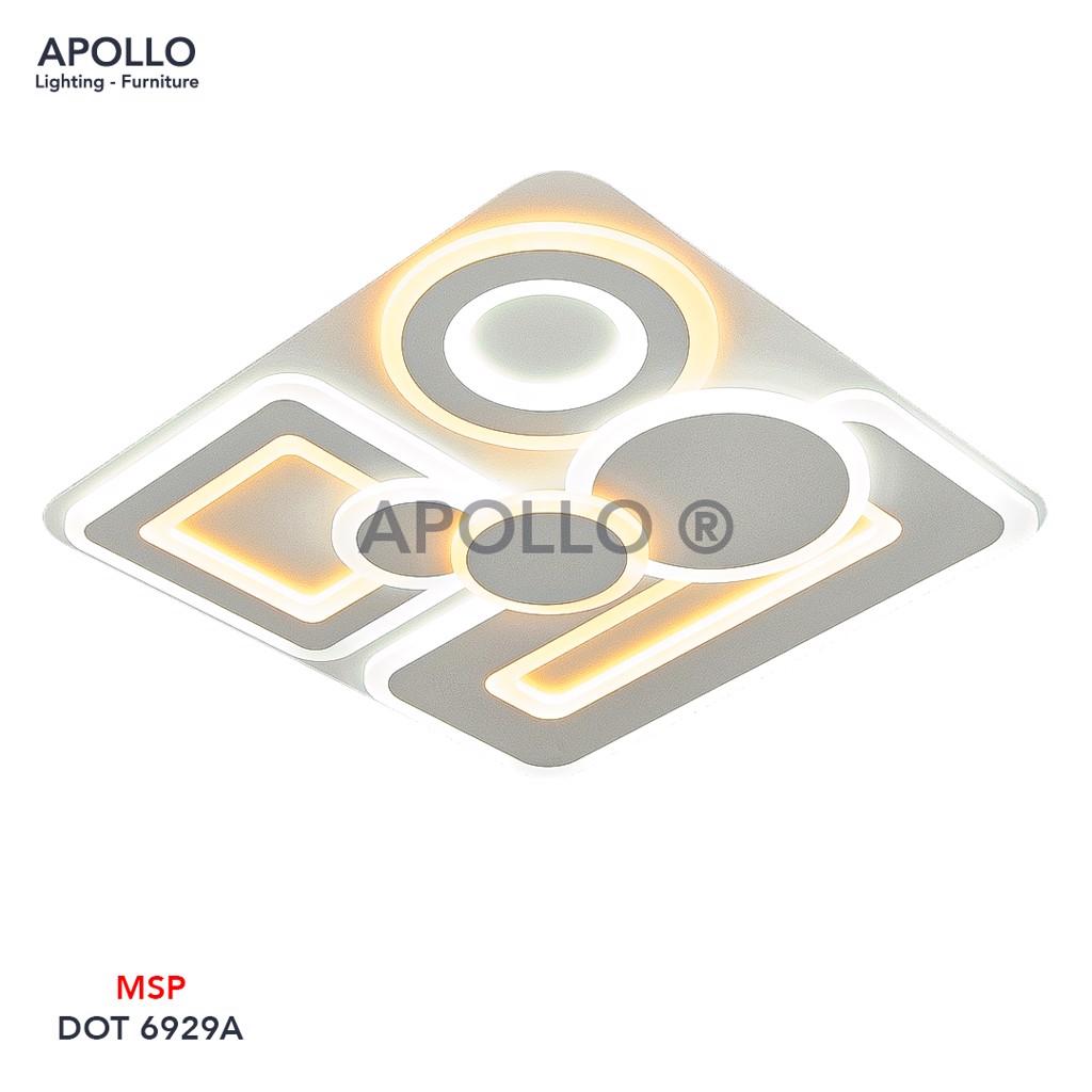Đèn ốp trần LED Mica Arcylic DOT 6929A