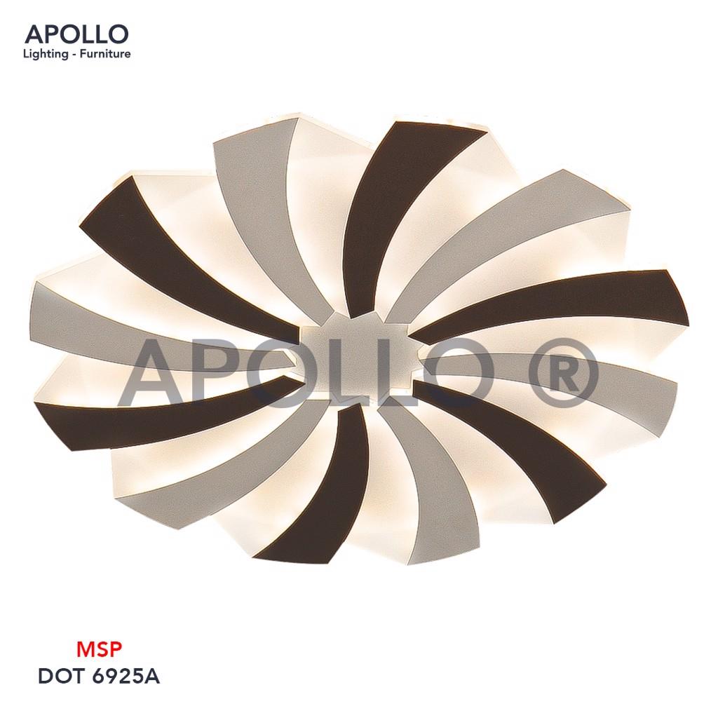 Đèn ốp trần LED Mica Arcylic DOT 6925A