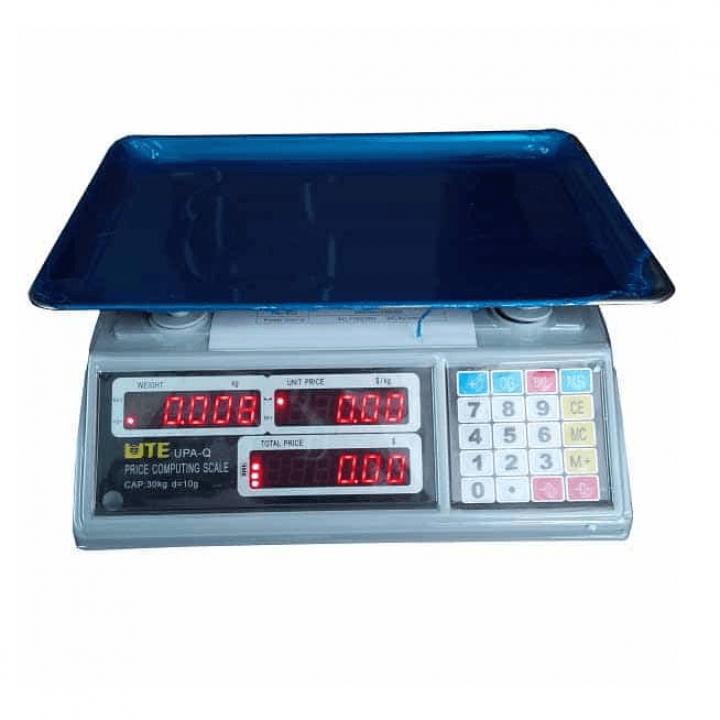 Cân điện tử tính giá UTE UPA-Q 30kg