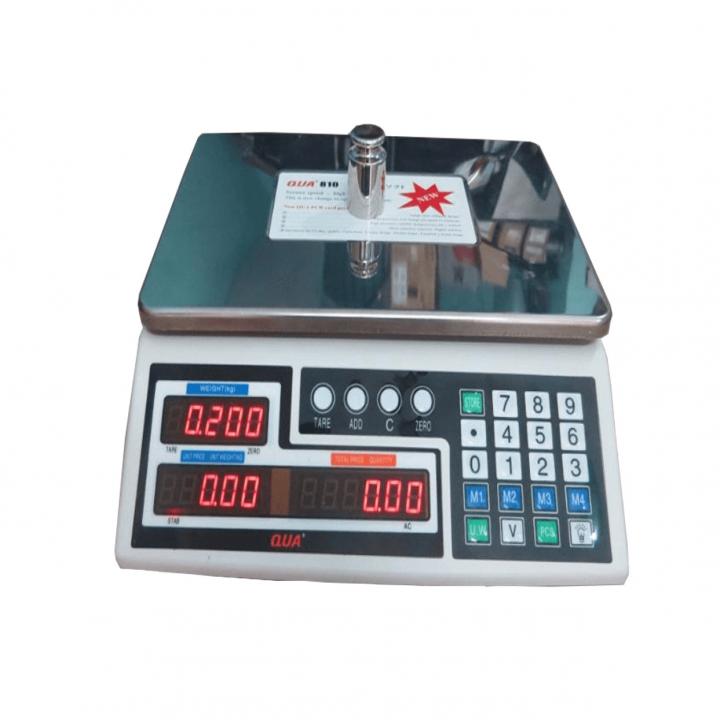 Cân điện tử tính giá QUA QUA 810 30kg