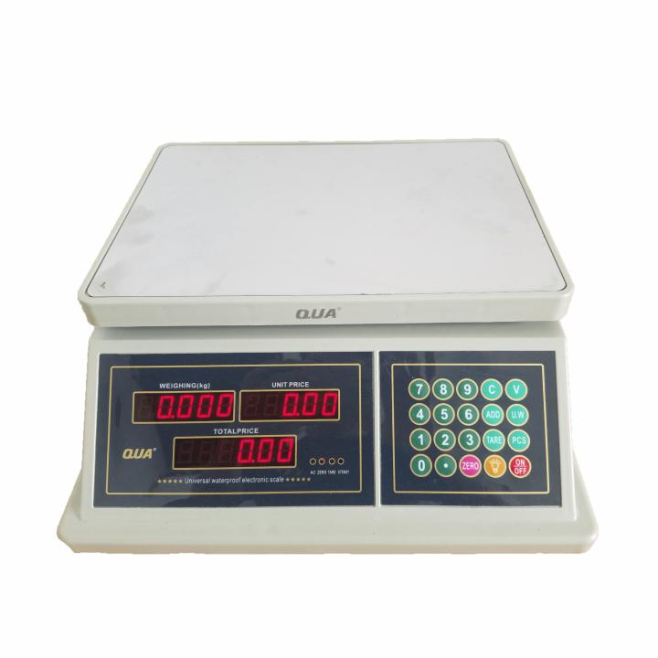 Cân điện tử tính giá QUA QUA 832 30kg