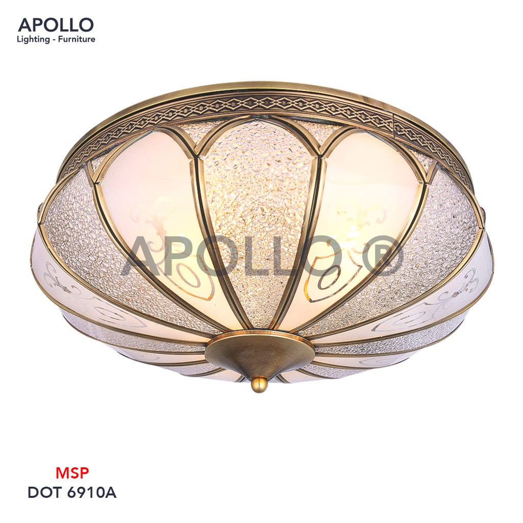 Đèn ốp trần cổ điển DOT 6910A