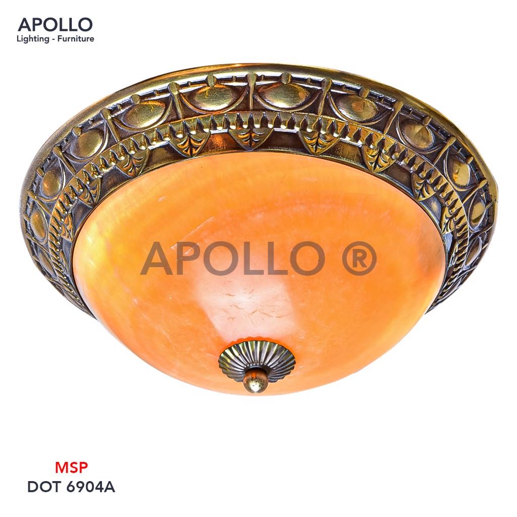 Đèn ốp trần đồng cổ điển DOT 6904A
