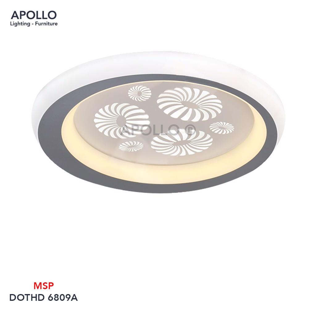 Đèn ốp trần hình tròn nhỏ DOTHD 6809A