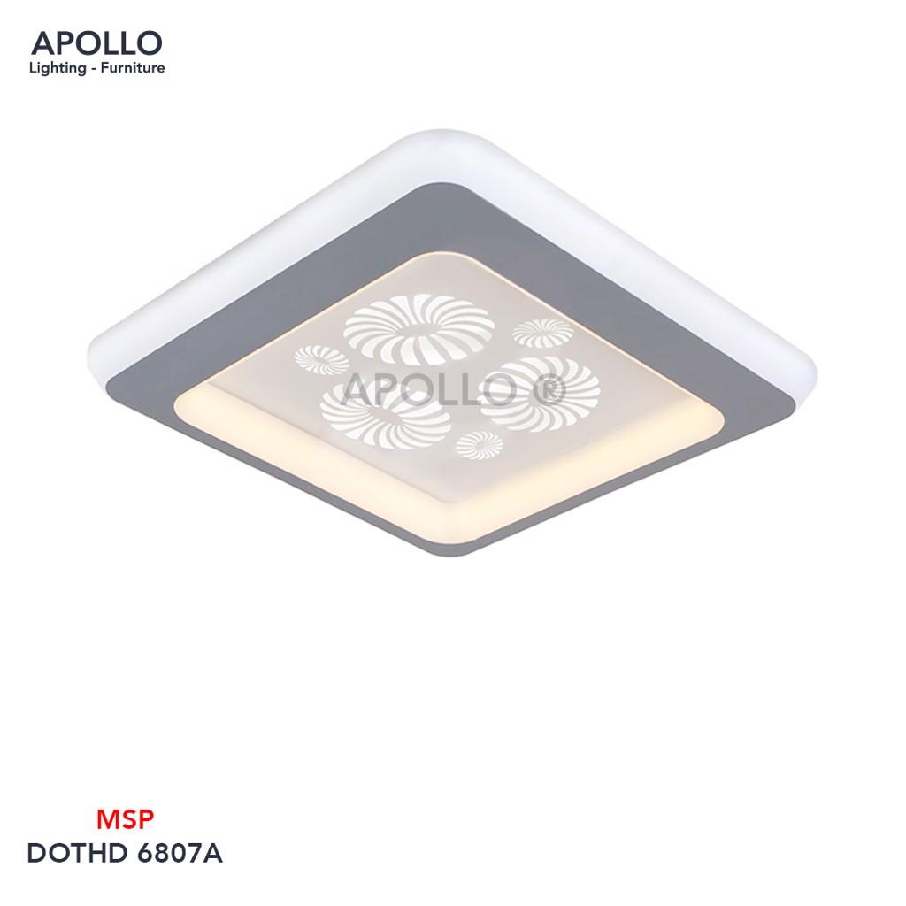 Đèn ốp trần nhỏ trang trí DOTHD 6807A