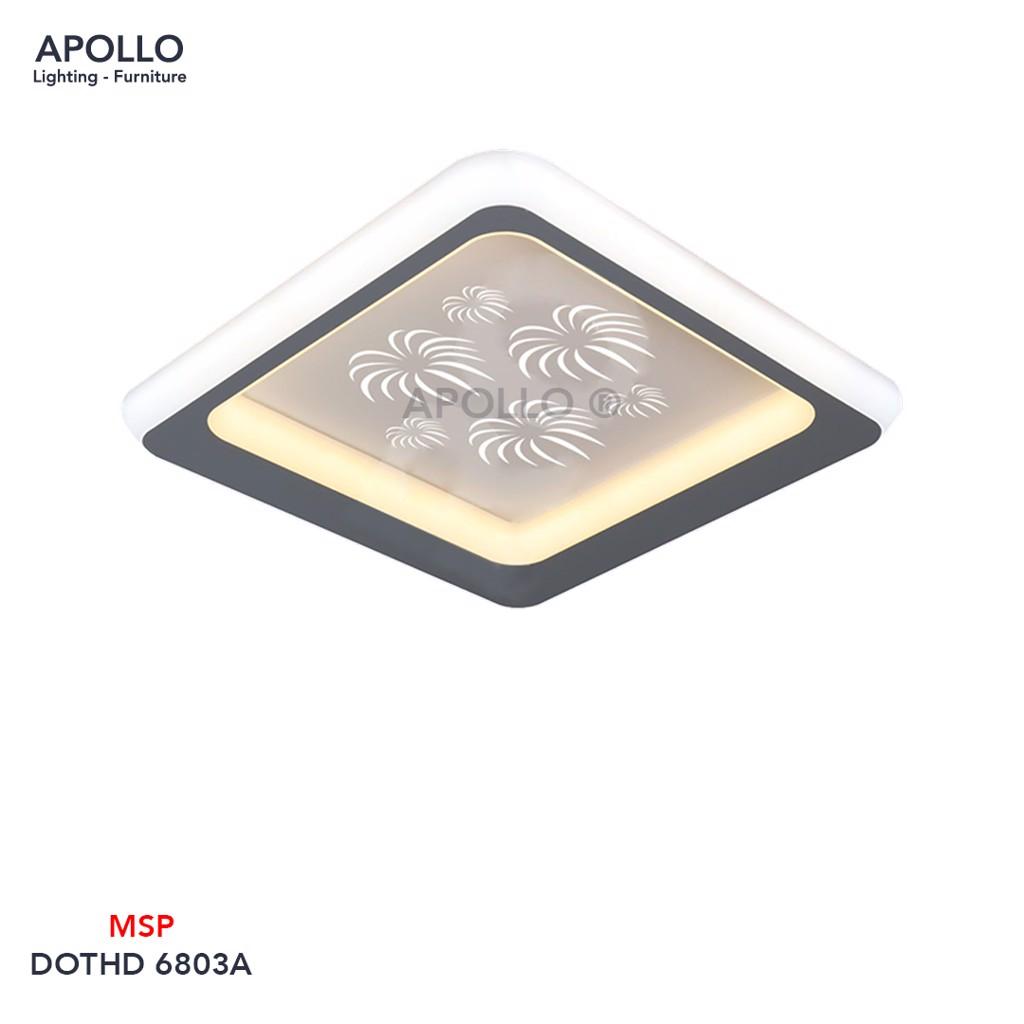 Đèn ốp Mica nhỏ DOTHD 6803A