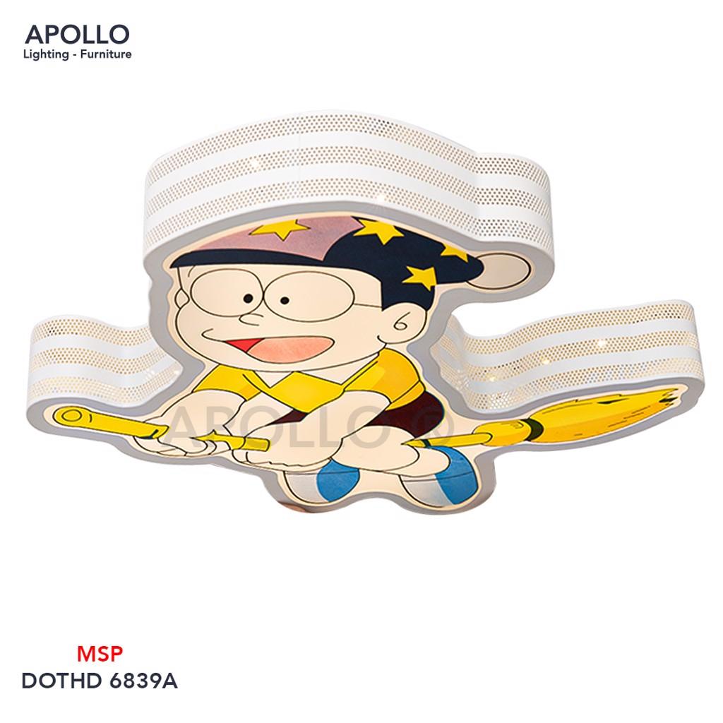 Đèn ốp trần Nobita phòng trẻ em DOTHD 6839A