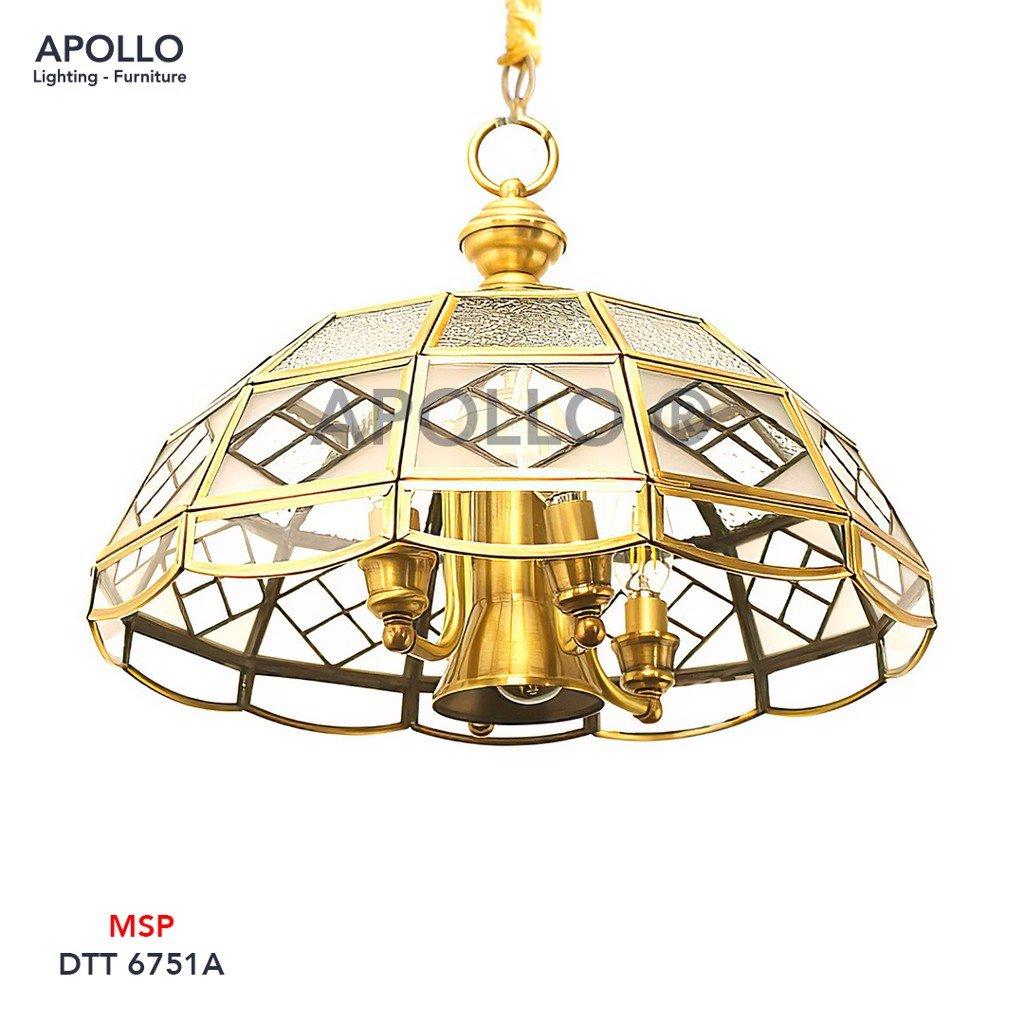 Đèn thả đồng cổ điển DTT 6751A