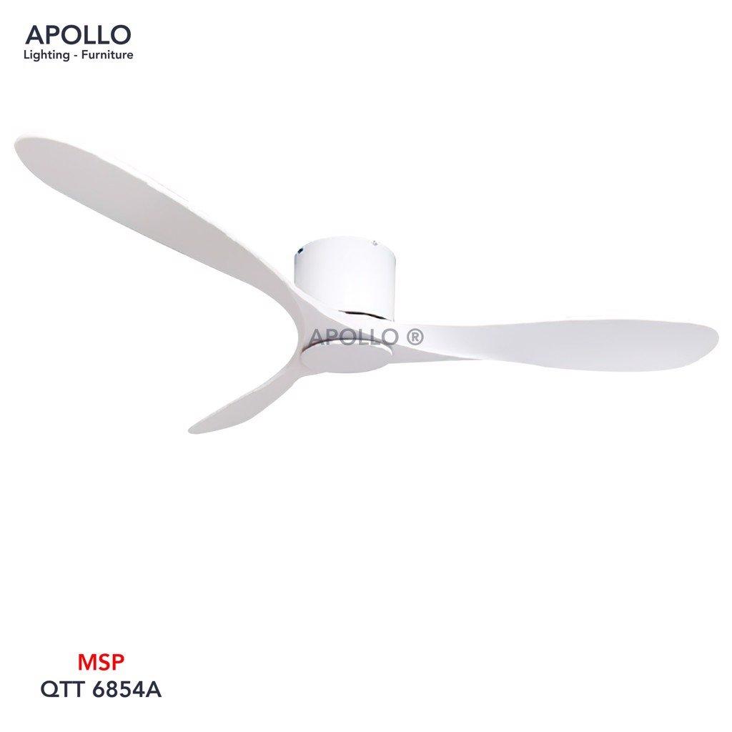 Quạt trần 3 cánh hiện đai đơn giản QTT 6854A