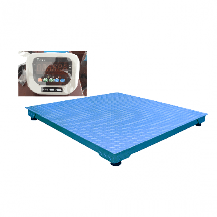 Cân sàn điện tử A501E THW 1m x 1m 2 tấn