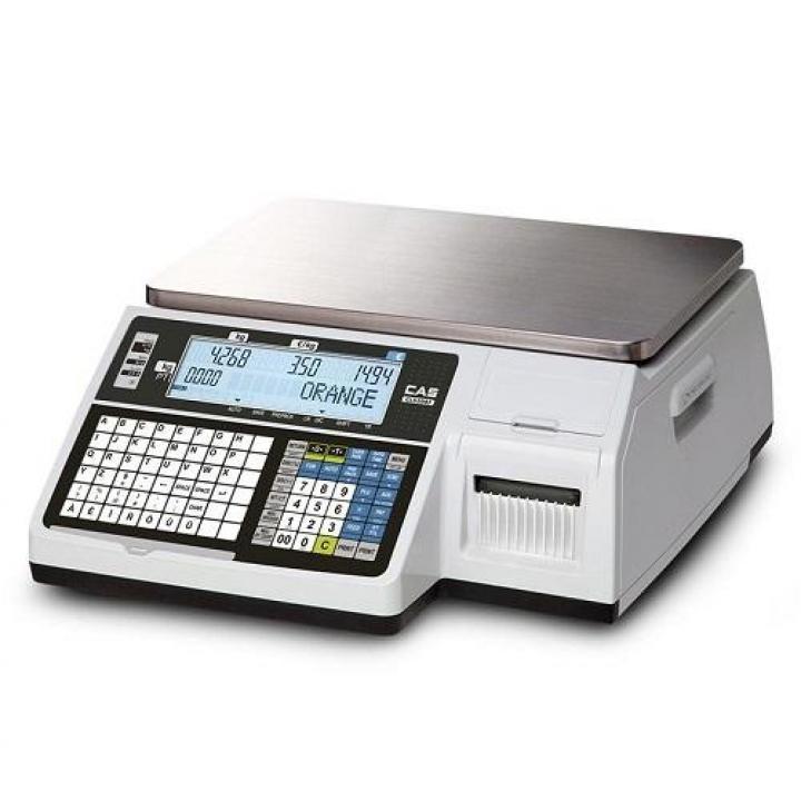 Cân điện tử in nhãn CAS CL-5200 B 30kg