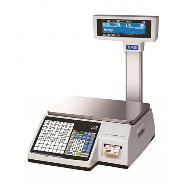 Cân điện tử in nhãn CAS CL-5200 P 30kg