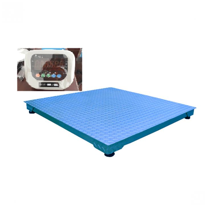 Cân sàn điện tử A501E THW 1.5m x 1.5m 2 tấn