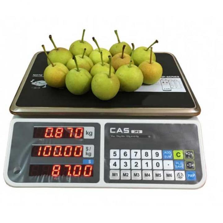 Cân điện tử tính giá CAS JP-2 15 kg