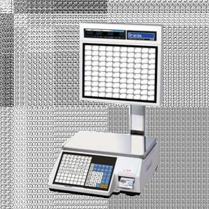 Cân điện tử in nhãn CAS CL5200 15/30