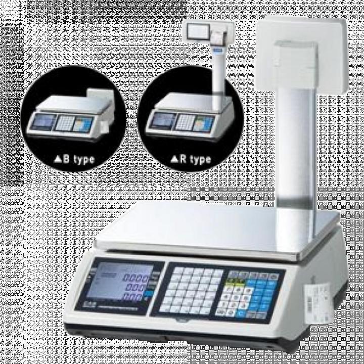 Cân điện tử in hoá đơn CAS CT100 15