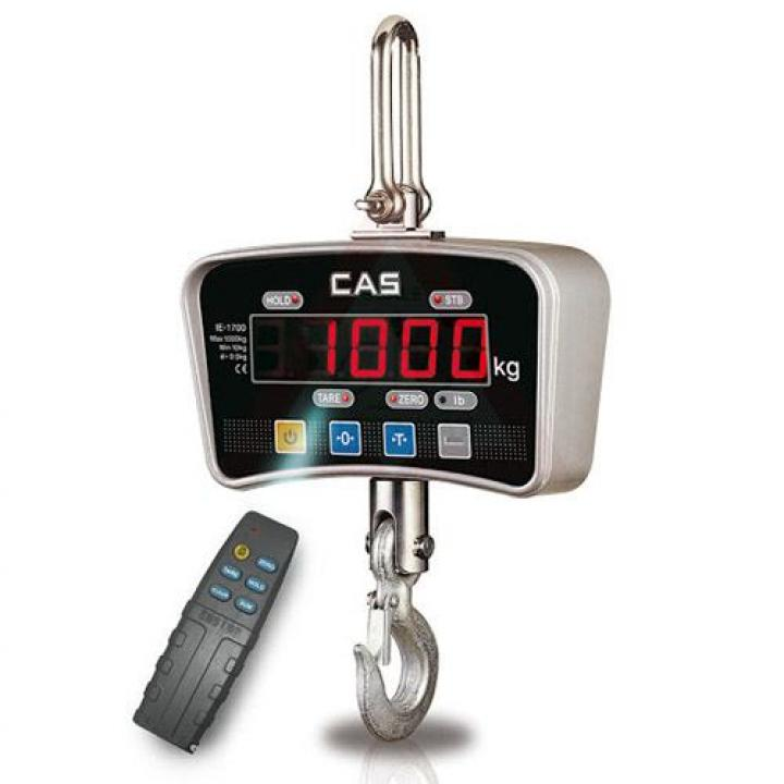 Cân treo điện tử CAS IE 1700 1TON / 500g (CN)