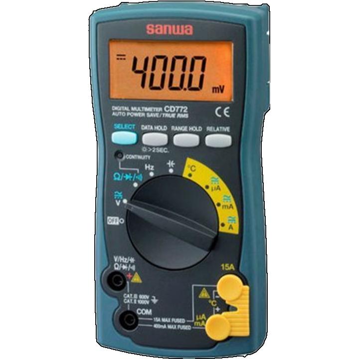 Đồng hồ vạn năng hiển thị số Sanwa CD772