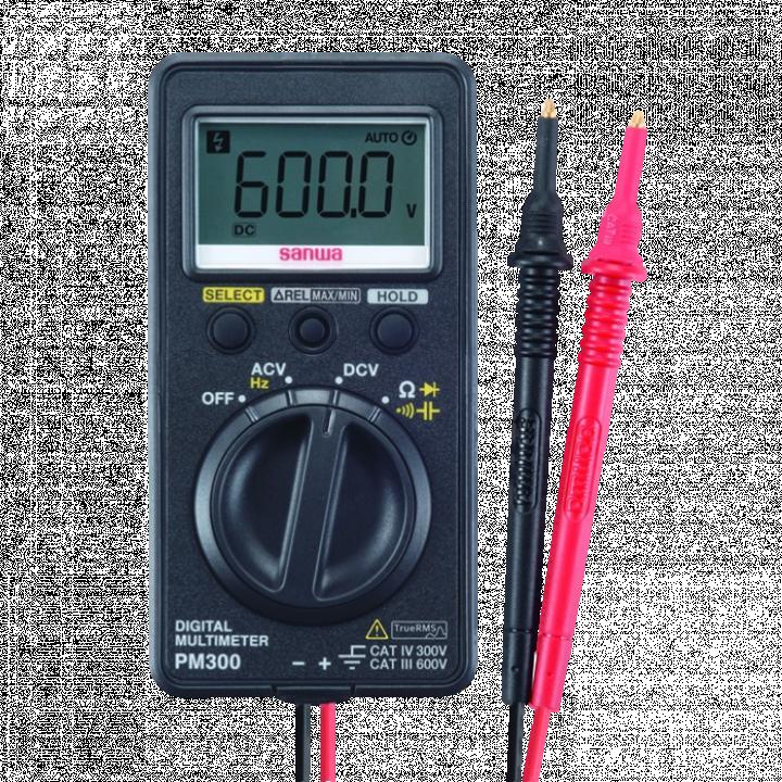 Đồng hồ vạn năng bỏ túi Sanwa PM300