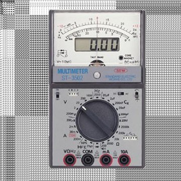 Đồng hồ vạn năng hiển thị số và kim SEW ST-3502