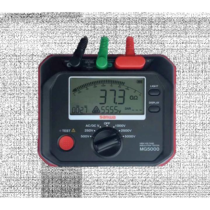 Đồng hồ đo điện trở cách điện Sanwa MG5000