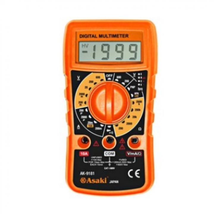 Đồng hồ đo điện vạn năng cao cấp Asaki AK-9181