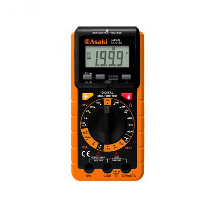Đồng hồ đo điện vạn năng cao cấp Asaki AK-9182