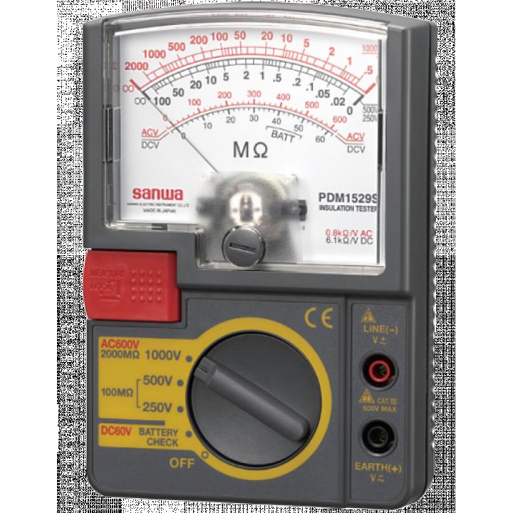 Máy đo điện trở cách điện Sanwa PDM1529S