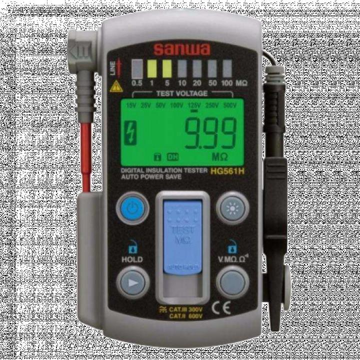 Máy đo điện trở cách điện Sanwa HG561H